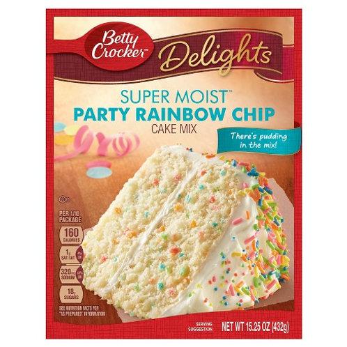 Betty Crocker Rainbow Chip Cake Mix