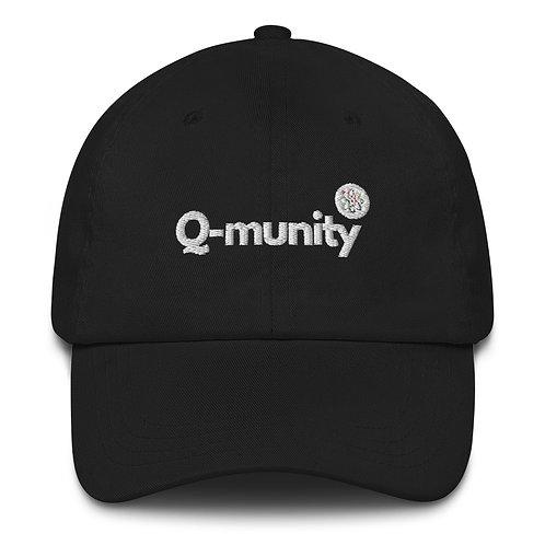 Q-munity Dad Hat