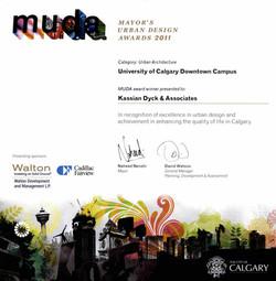 Mayor's Urban Design Award