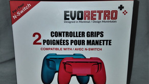 Product Review #016: EvoRetro Controller Grips (Nintendo Switch)
