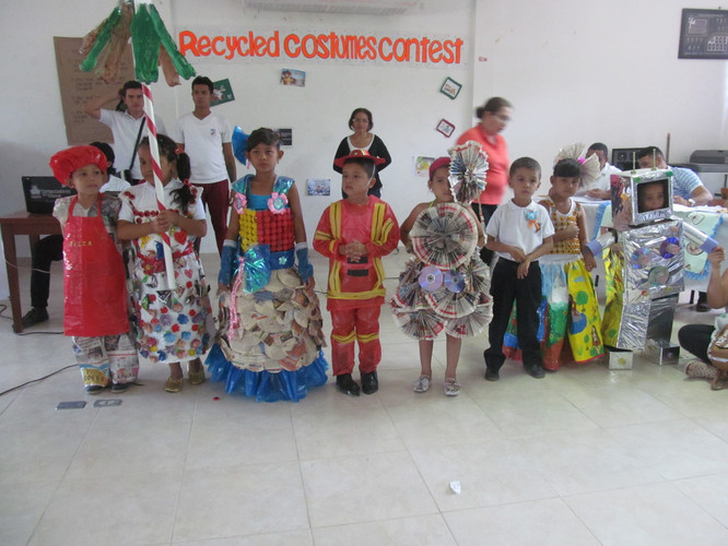 Recycled Costumes Contest