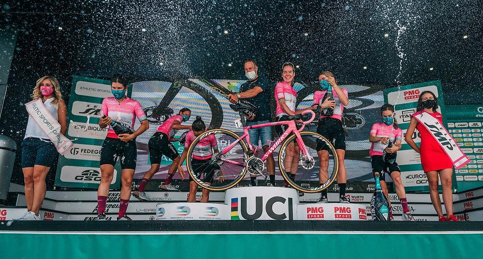 Anna van der Breggen wint de giro donne