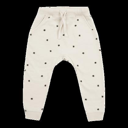 מכנס כוכבים לבן