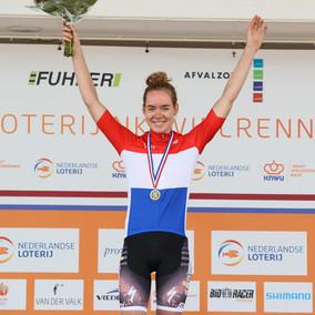 Anna wint eerste nationale titel