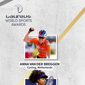 Anna genomineerd voor Laureus World Sports Award