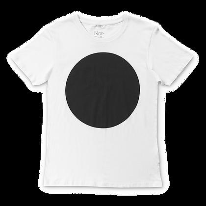 חולצת דוט שחורה מבוגרים