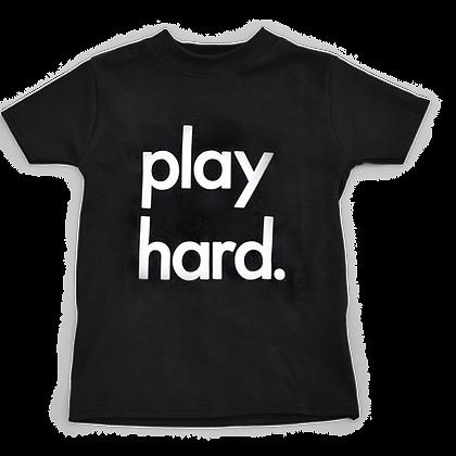 חולצה שחורה Play Hard