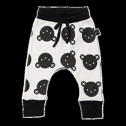 מכנסי באגי דובים שחורים