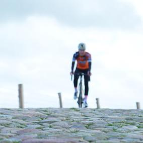 Anna op hoogtestage na Strade Bianche