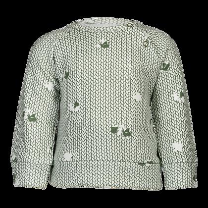 סוודר טבע ירוק