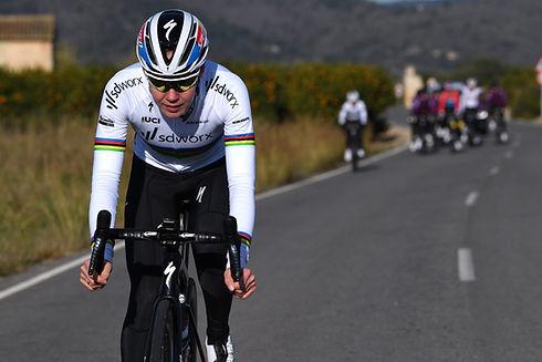 Anna van der Breggen Team sdworx