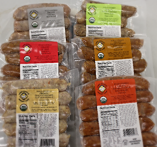 Organic Chicken Sausages