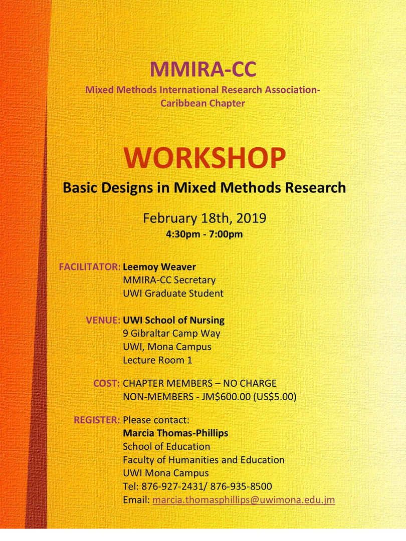 Basic Designs in Mixed Methods Research - Feb 2019