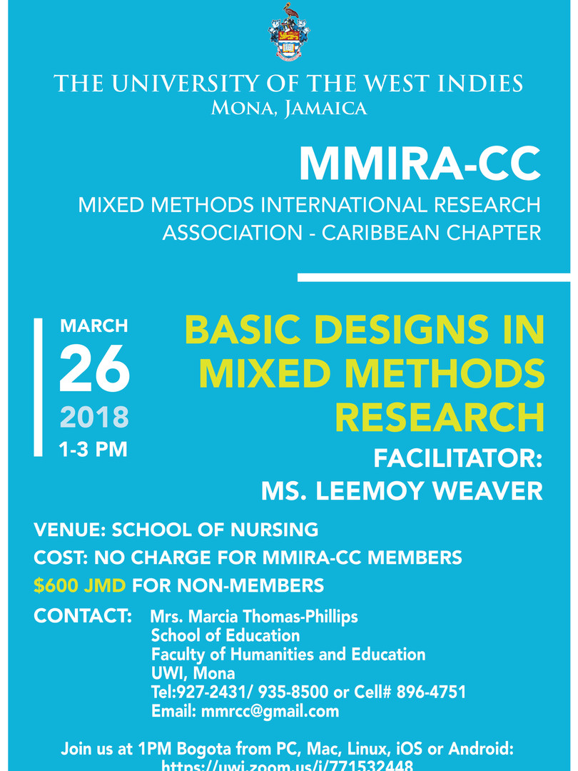 Basic Designs in Mixed Methods Research - March 2018