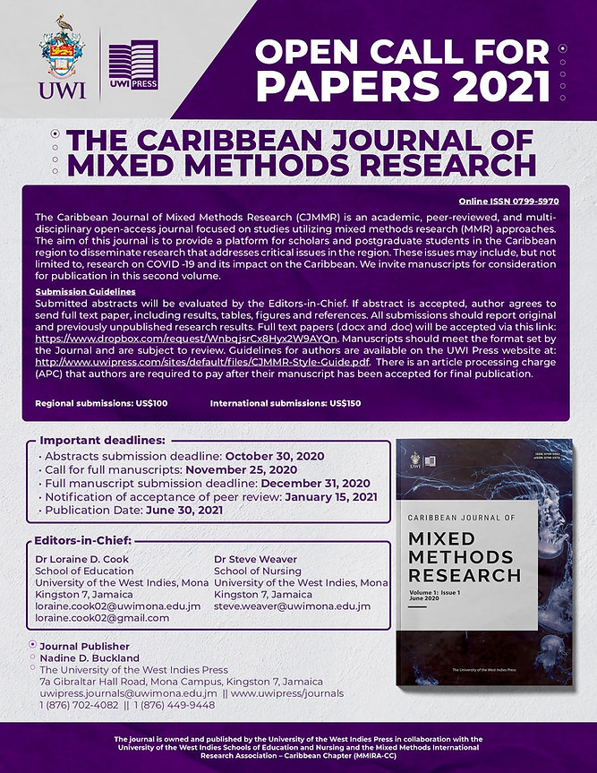 Call for Papers for CJMMR 2021-Final (1)