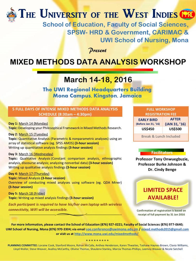 Data Analysis Workshop - March 2016