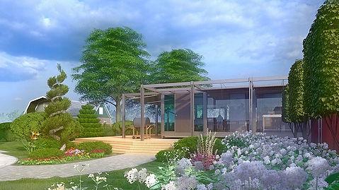 Landscape design_Lumion 3D