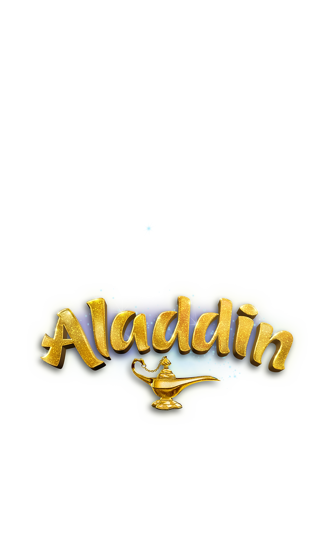 Aladdin logo with lamp.png