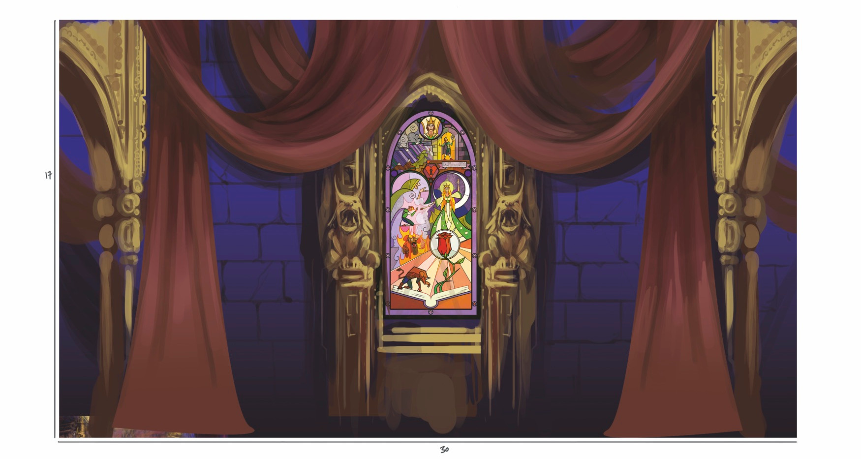 Castle_interior_Castle interior Back clo