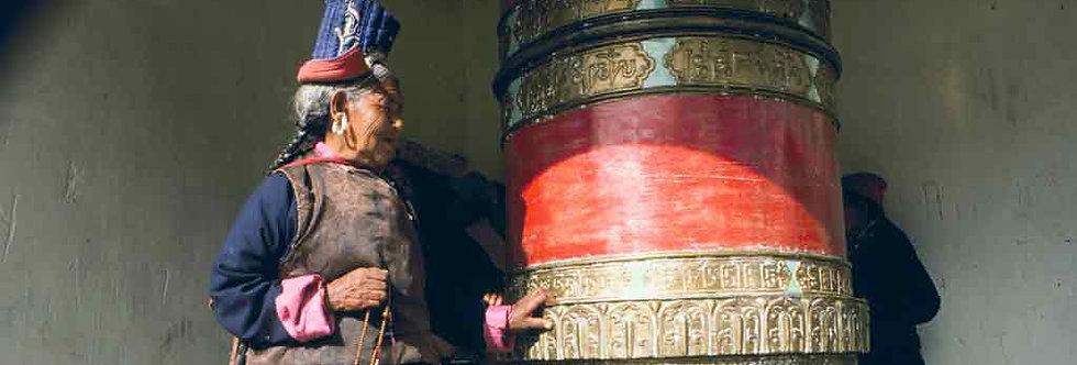 Ladakh Prayer Wheel