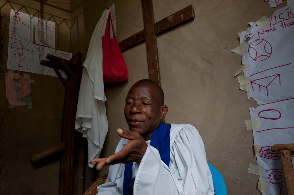 Father Ambo Byusam              St. Marks Church           Mbale, Uganda 2013