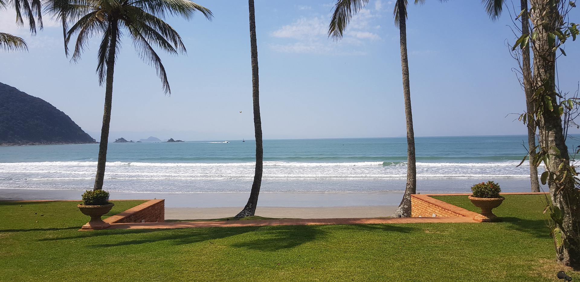 Casa Pé na Areia na Praia de Iporanga