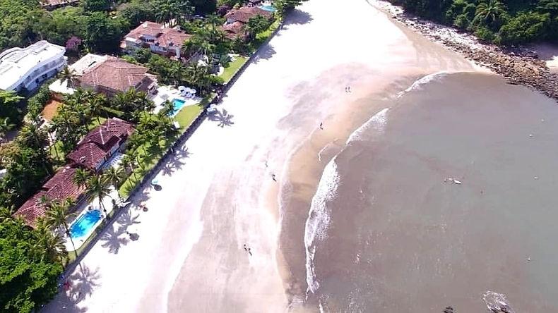 Praia das Conchas, Condomínio Iporanga no Guarujá