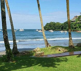 Pé na Areia na Praia de Iporanga Guarujá Casa Venda