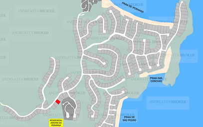 Terrenos na Praia do Iporanga - Condominio Iporanga