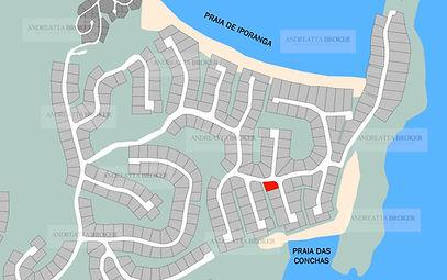 Terrenos a Venda na Praia do Iporanga - Condominio Iporanga