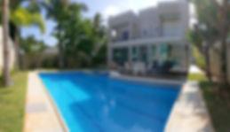 Casa pé na areia no Condomínio Iporanga no Guarujá, Praia do Iporanga, Praia das Conchas, Praia de São Pedro
