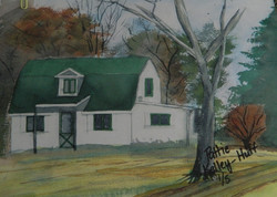 Mockingbird Hill (For Display only - No sale) - Watercolor