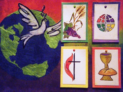 ELCA UMC Communion (For Display only - No sale) - Mixed Media