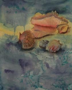 Under The Sea - Watercolor