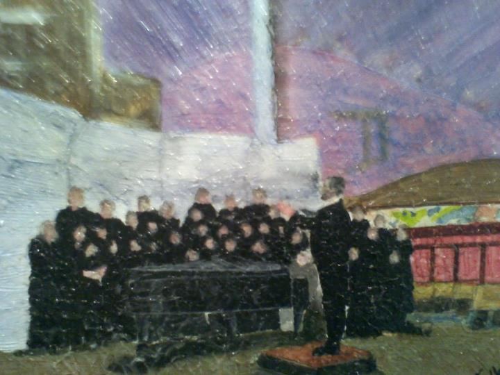 Carthage Choir (For Display only) - Mixed Media