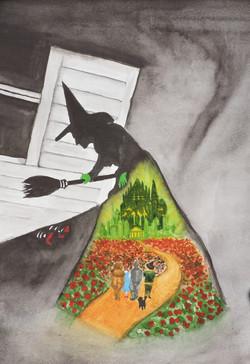 Wizard of Oz Watercolor