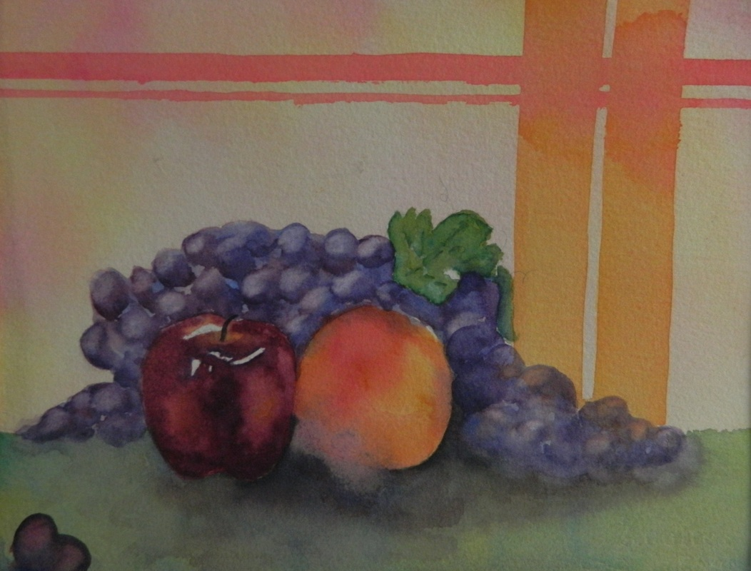 Fresh Fruit - Watercolor