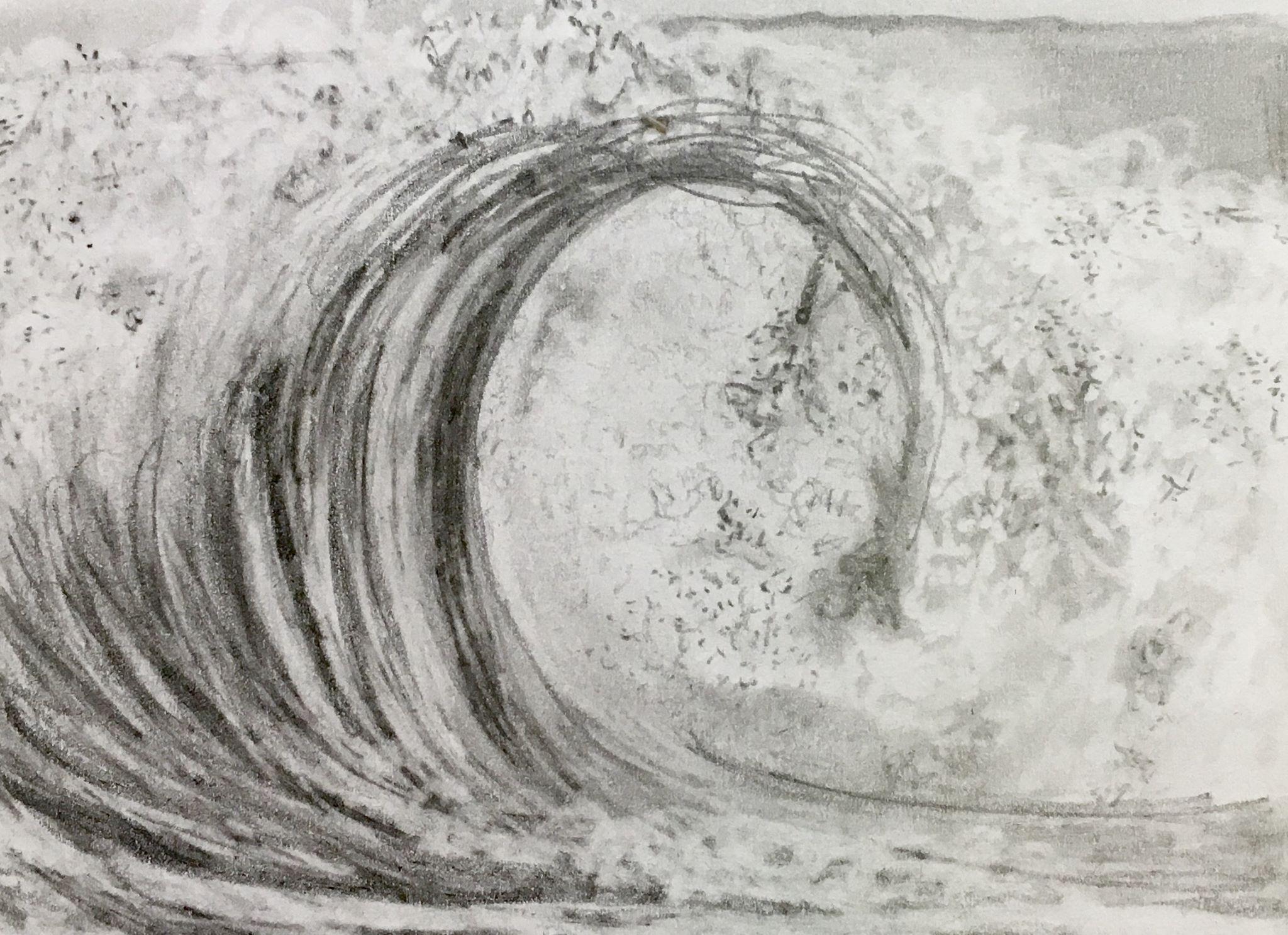 Wave - graphite