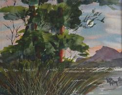 Moonlight - Watercolor