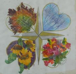 Four Seasons - Mixed Media