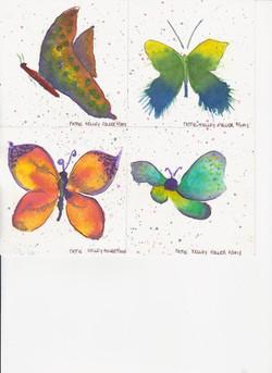 Butterflies - Watercolor