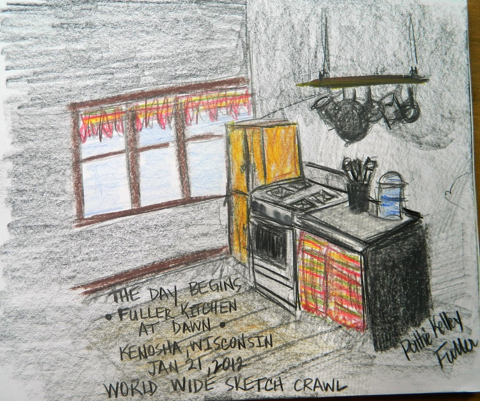 Fuller Kitchen at Dawn - Graphite