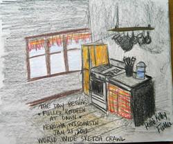 Fuller Kitchen at Dawn - Graphite