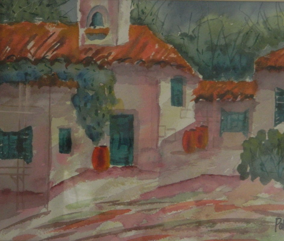 Hacienda - Watercolor