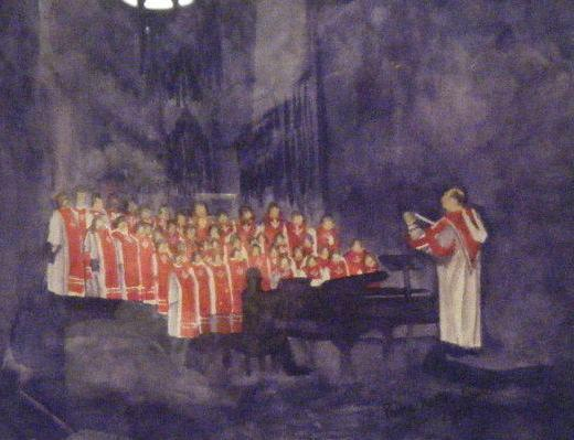 Carthage College Chapel Choir (For Display Only - Not For Sale)