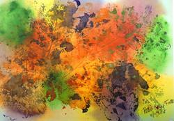 Colormash with hidden birds