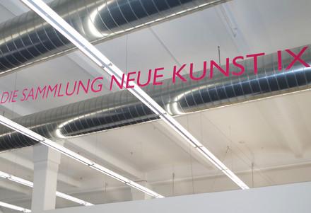 Exhibition, DIE SAMMLUNG NEUE KUNST IX, H2- Zentrum für Gegenwartskunst, Augsburg