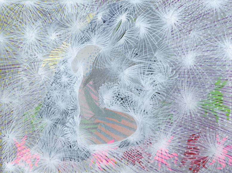 ENCICLOPEDIA, canvas, acryl 21cmx42cm © Natalija Ribovic 2013