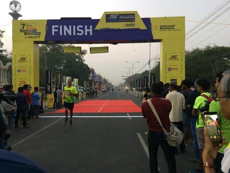 Skechers Peformance Chennai Marathon 2019 URUFIT Technology validation
