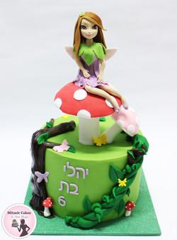 עוגה פיה ביער